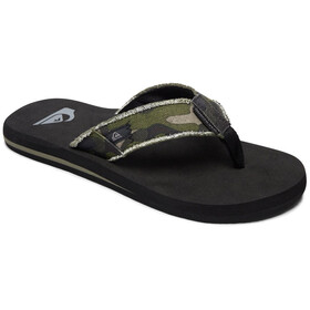 Quiksilver Monkey Abyss Sandals Herren green/brown/black